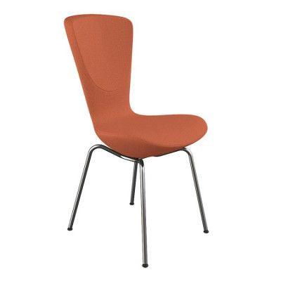 Invite stolen med krom ben.