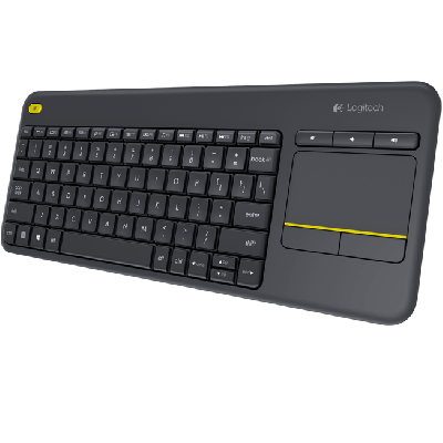 Logitech K400 Plus Trådløst Touch Keyboard - NYHED
