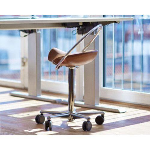 Dynamostol Incharge Flex sadel stol: Styrk din ryg!