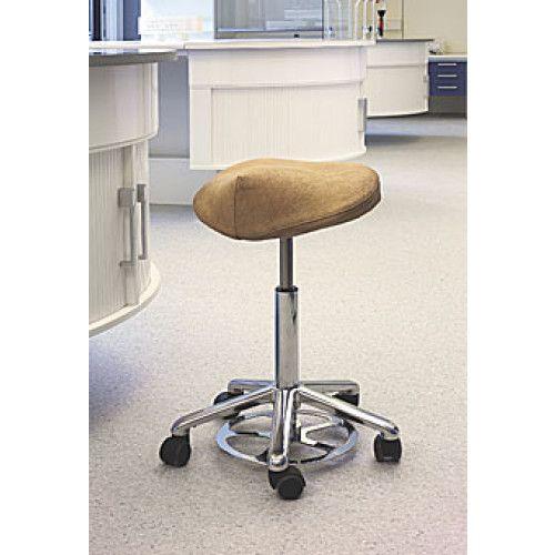 Dynamostol Incharge sadel stol: Styrk din ryg!