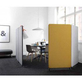Abstracta Softline gulvskærm / lydabsorberende akustikvæg