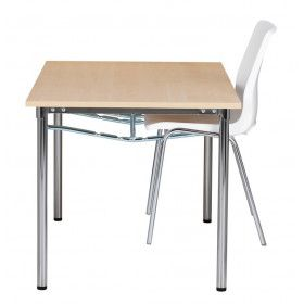 RBM Eminent kantine/mødebord med krom ben